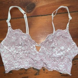 Free People Pink Lace Bralette